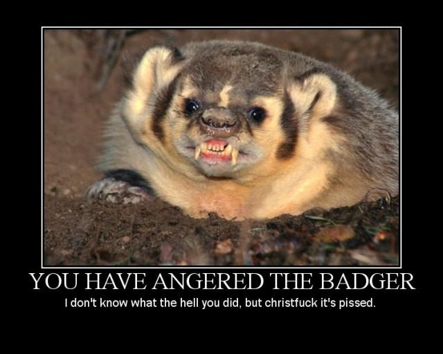AngeredTHeBadger