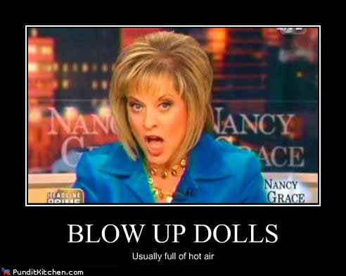 Nancy Grace to poison the airwaves again