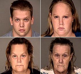 The desert has eyes. (John Allen, Samantha Allen, Cynthia Stoltzmann, Judith Deal)