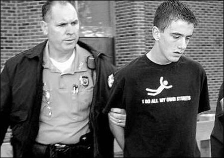 Joe Nee at the time of his arrest