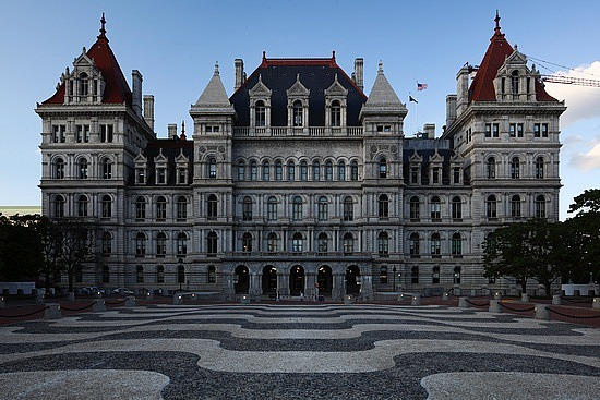New York State House in Albany. Doesn't it look like a super-villain should live here?