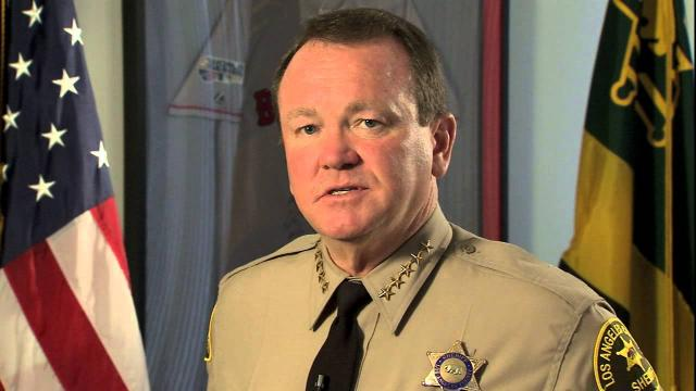 Los Angeles County Sheriff Jim McDonnell