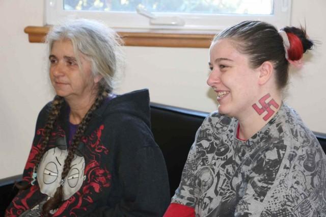 Fiancée of NJ nazi claims she made up assault story