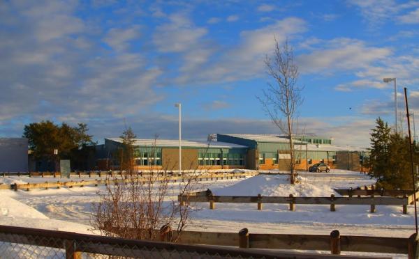 Dene High School at the La Loche Community School