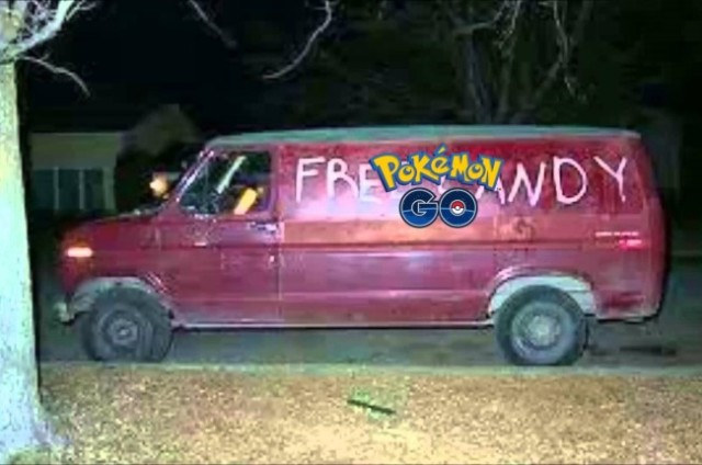 Mass. man tries to get girls to play Pokemon Go in his van