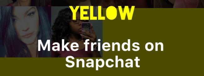 New app to be on the look out for: Yellow