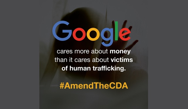 Google sticks up for Backpage and trafficking