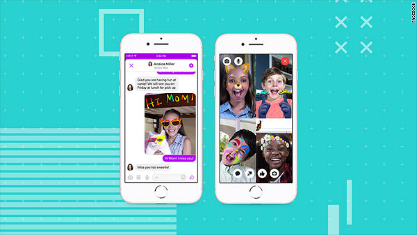 Facebook launching messaging app for kids under 12