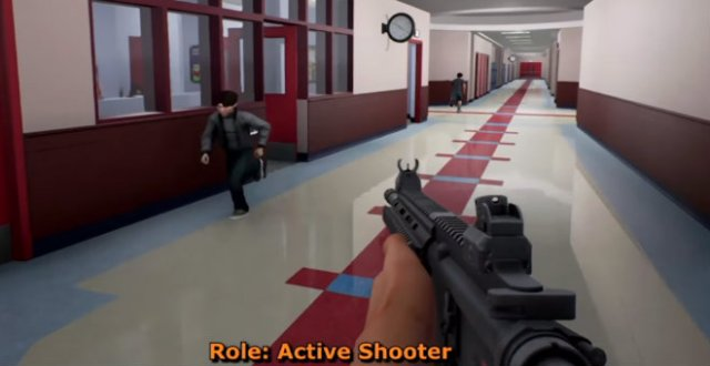 Don't call it a school shooting video game