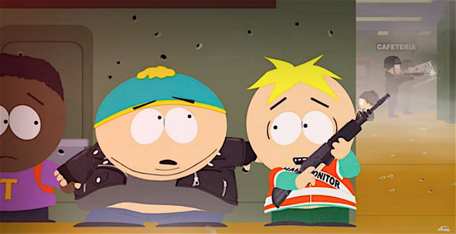 South Park takes on school shootings