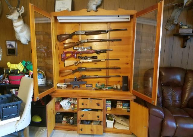 Is a glass gun cabinet really a gun cabinet?