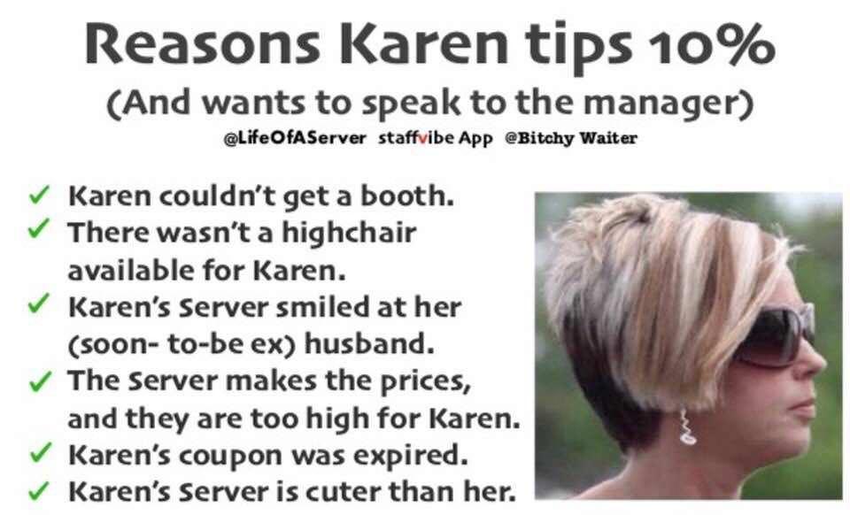 You didn't predict a school shooting, Karen!