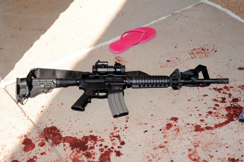 AR-15 stolen from Tenn. School