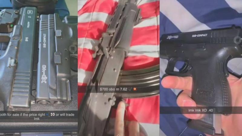 Guns found in car at Alburquerque high school, suspect released